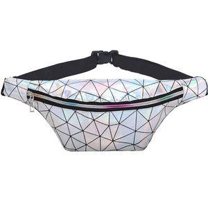 Holographic waist bag